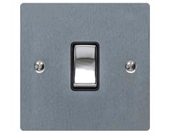 Elite Flat Plate Satin Chrome T03