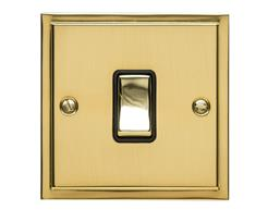 Stepped Plate Polished Brass S01